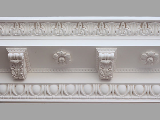 CL-CC05 Classic Plaster Cornice.  Projection: 265mm.  Depth: 230mm.