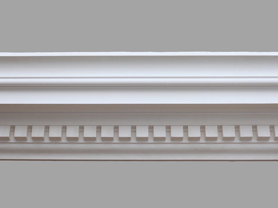 CL-CC01 Classic Plaster Cornice. Ceiling Projection: 140mm. Wall Height: 160mm.