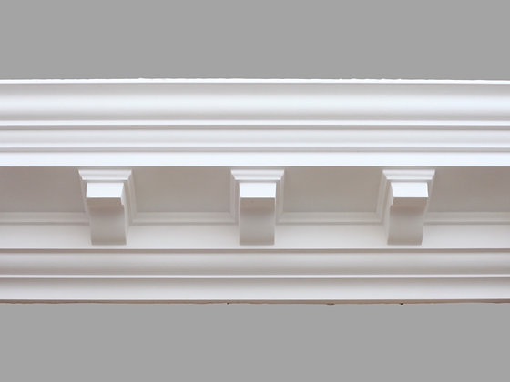CL-CC03 Classic Plaster Cornice.  Projection: 180mm.  Height: 180mm.