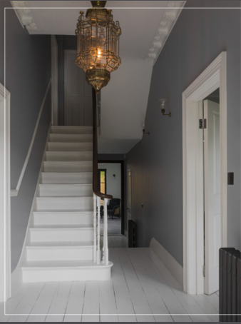 interior of stairwell