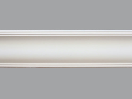 CL-V12 Victorian Plaster Cornice.  Projection: 110mm.  Height: 110mm.