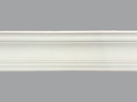 CL-VE28 Victorian-Edwardian Plaster Cornice.  Projection: 105mm. Height: 95mm