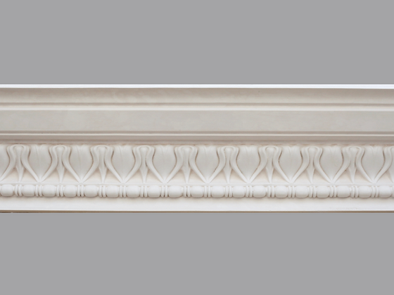 CL-R06 Regency Plaster Cornice.  Ceiling Projection: 120mm.  Wall Height: 135mm.