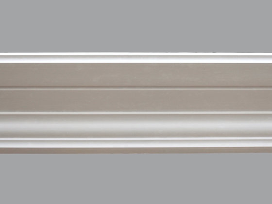 CL-C01 Contemporary Plaster Cornice.  Projection: 175mm.  Depth: 60mm.