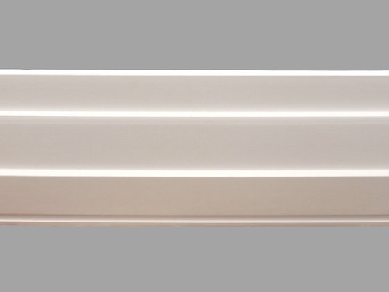 CL-C03 Contemporary Cornice. Ceiling Projection: 212mm. Wall Height: 38mm