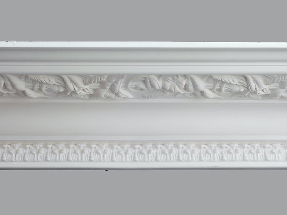 CL-V21 Victorian Plaster Cornice. Ceiling Projection: 290mm. Wall Height: 170mm.