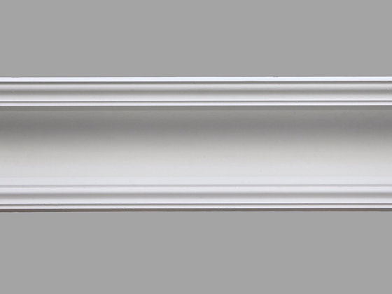 CL-VE05 Victorian/Edwardian Plaster Cornice.  Projection: 133mm.  Height: 125mm.