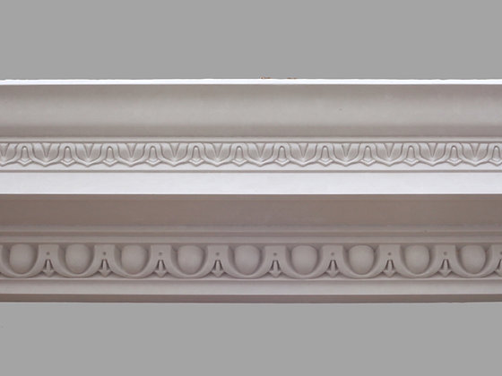 CL-CC06 Classic Plaster Cornice. Ceiling Projection: 220mm. Wall Height: 175mm.