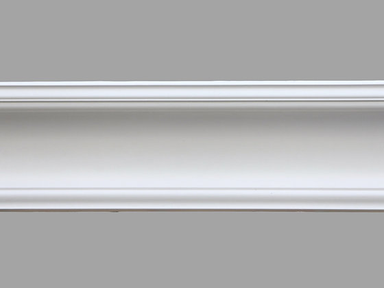 CL-VE04 Victorian/Edwardian Plaster Cornice.  Projection: 135mm.  Depth: 133mm.
