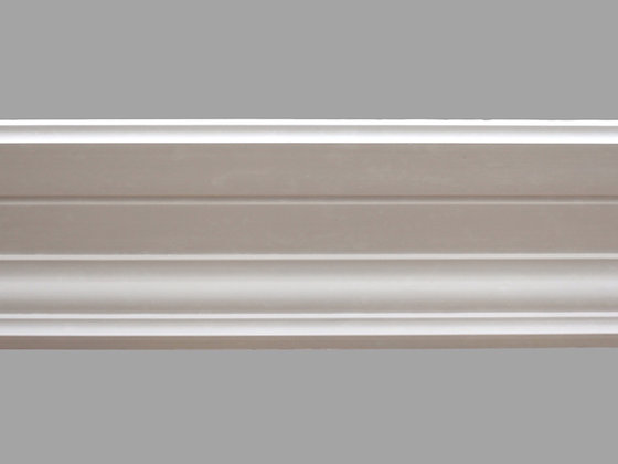 CL-C01 Contemporary Plaster Cornice. Ceiling Pro: 175mm. Wall Height: 60mm.