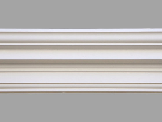 CL-G04 Georgian Plaster Cornice.  Projection: 130mm.  Depth: 160mm.
