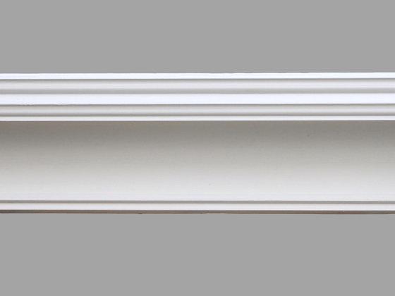 CL-R01 Regency Plaster Cornice.  Projection: 130mm.  Depth: 125mm.