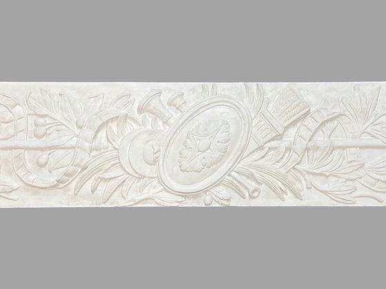 CL-F02  Plaster Frieze.  Height: 250mm. Width: 1255mm. Depth: 10mm.