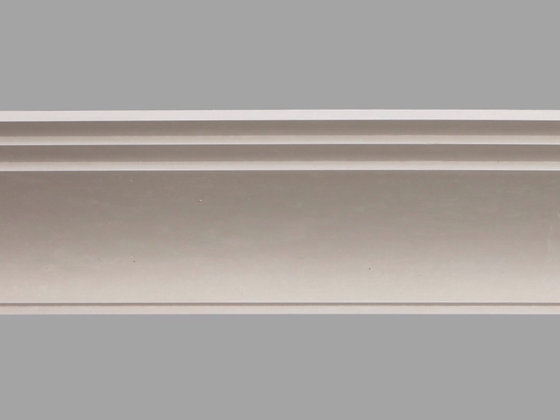 CL-A07 Art Deco Plaster Cornice.  Projection: 220mm.  Height: 115mm.