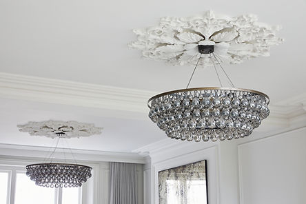 Cornice Store Plaster Ceiling Centre - Roses collection