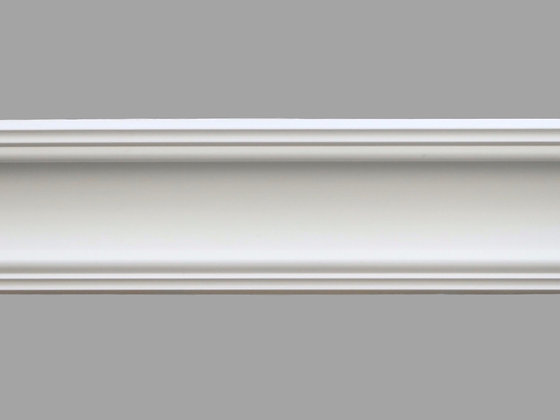 CL-VE01 Victorian-Edwardian Plaster Cornice.  Projection: 110mm. Depth: 90mm
