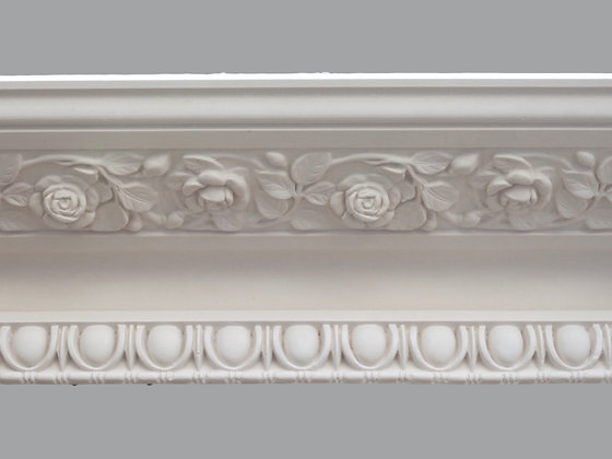 CL-V10 Victorian Plaster Cornice.  Projection: 280mm.  Height: 150mm.