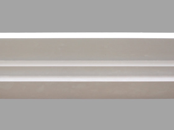 CL-A02 Art Deco Plaster Cornice. Ceiling Projection: 190mm. Wall Height: 60mm.