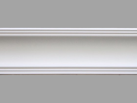 CL-VE02 Victorian/Edwardian Plaster Cornice.  Projection: 125mm.  Height: 110mm.