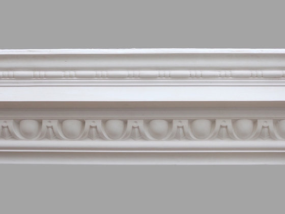 CL-CC04 Classic Plaster Cornice. Ceiling Projection: 140mm. Wall Height: 175mm.