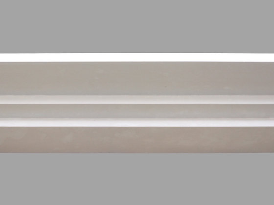 CL-A01 Art Deco Plaster Cornice. Ceiling Projection: 155mm. Wall Height: 45mm.