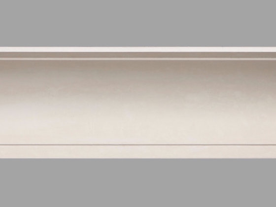 CL-A08 Art Deco Plaster Cornice. Ceiling Projection: 185mm. Wall Height: 185mm.