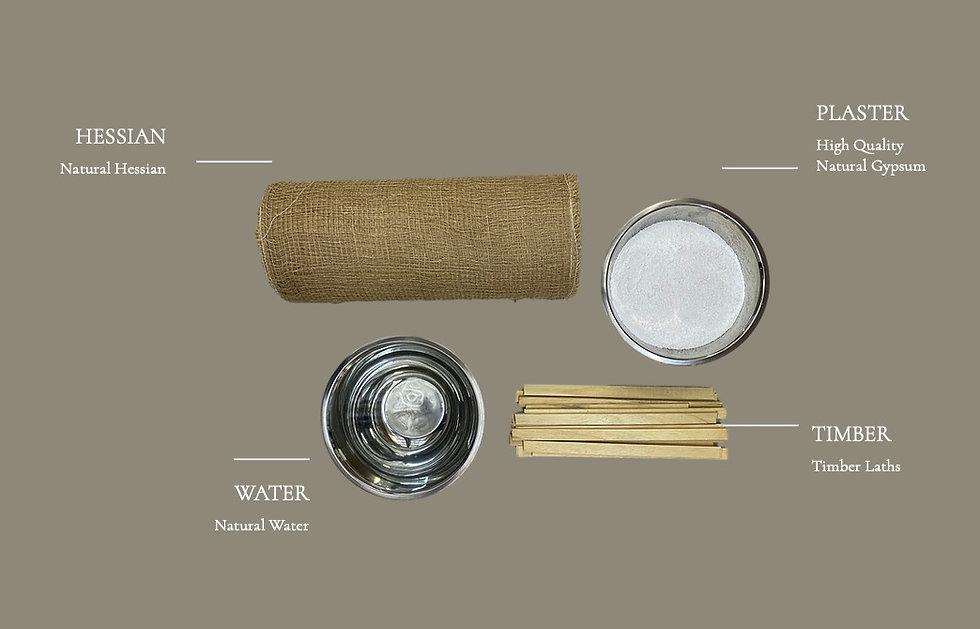 Cornice London Materials