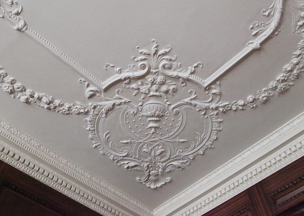 Eaton Place Cornice Ceiling Restoration - Cornic LondonLtd