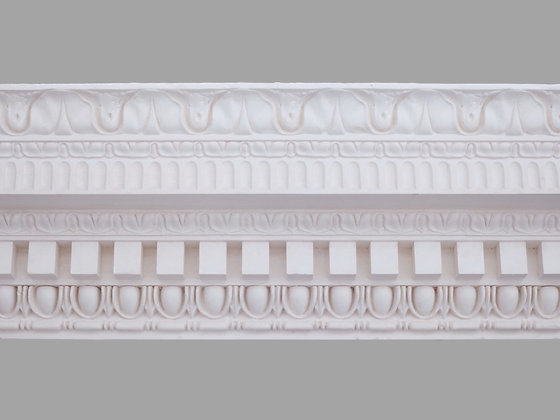 CL-CC10 Classic Plaster Cornice. Ceiling Projection: 170mm. Wall Height: 240mm.