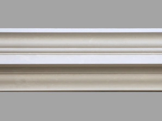 CL-G03 Georgian Plaster Cornice. Ceiling Projection: 118mm. Wall Height: 105mm.