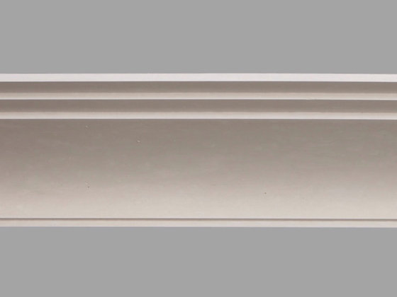 CL-A09 Art Deco Plaster Cornice.  Projection: 255mm.  Height: 120mm.