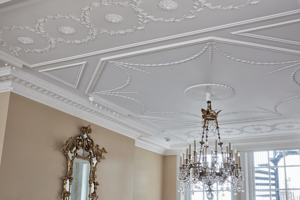 The Cornice London Plaster Ceiling collection
