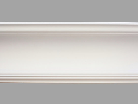 CL-E11 Edwardian Plaster Cornice. Ceiling Projection: 210mm. Wall Height: 210mm.
