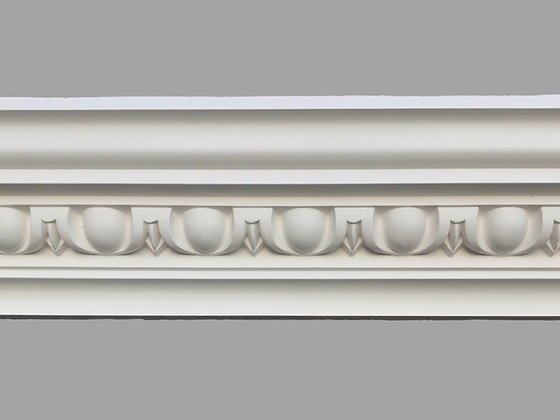 CL-CC07 Classic Plaster Cornice. Ceiling Projection: 95mm. Wall Height: 100mm.