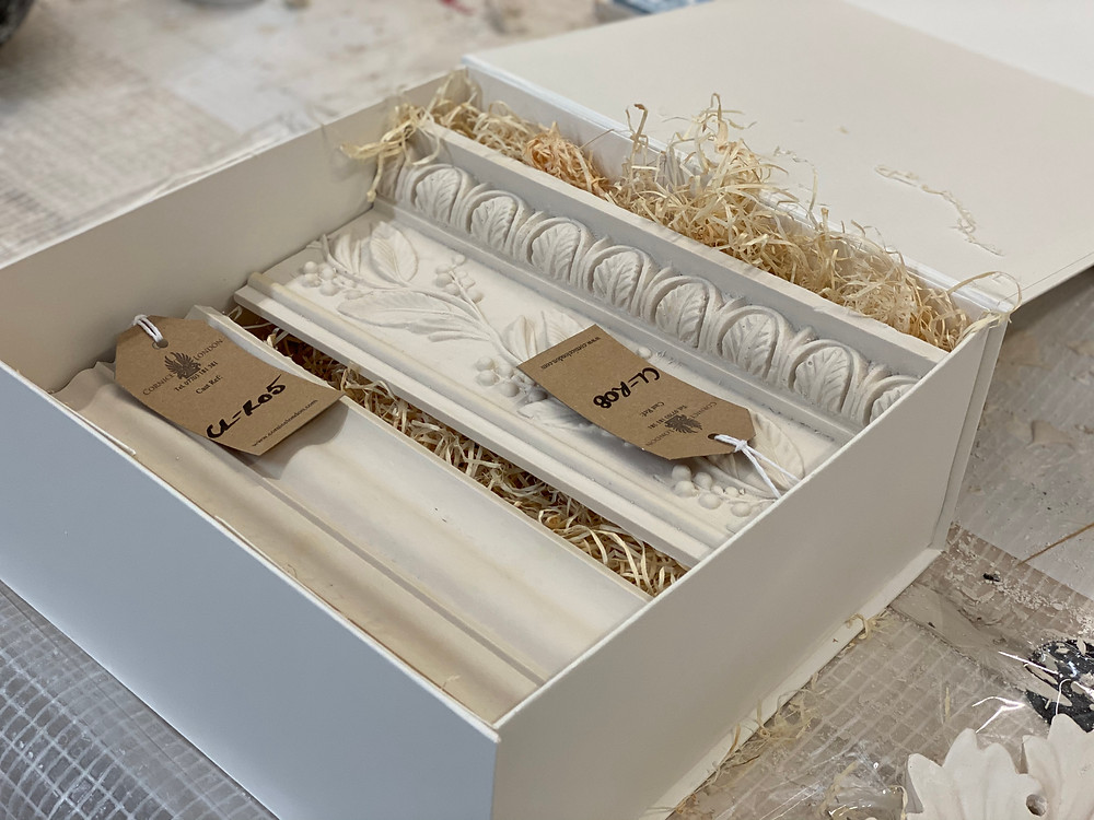 Cornice London Sample Box
