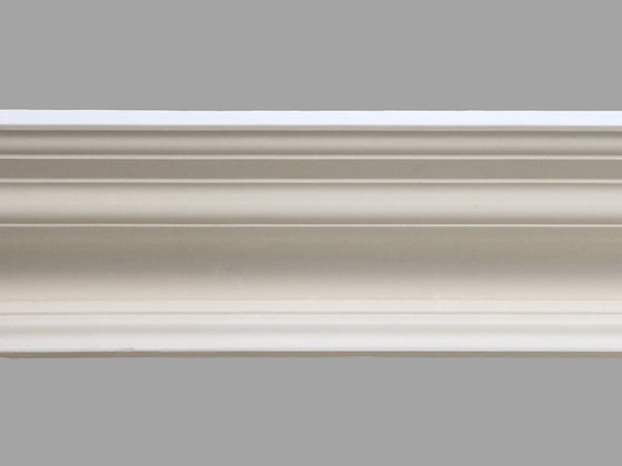 CL-V06 Victorian Plaster Cornice. Ceiling Projection: 195mm. Wall Height: 105mm.