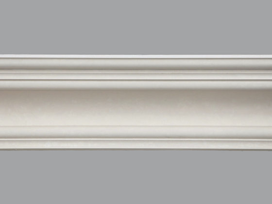 CL-VR14 Victorian/Regency Plaster Cornice.  Projection: 200mm.  Height: 115mm.