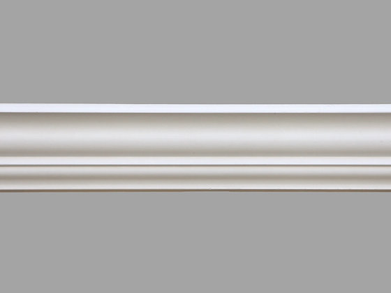CL-LR05 Plaster Lighting Cornice. Ceiling Projection: 53mm. Wall Height: 80mm