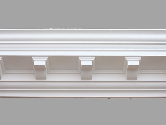 CL-CC02 Classic Plaster Cornice.  Projection: 127mm.  Height: 140mm.