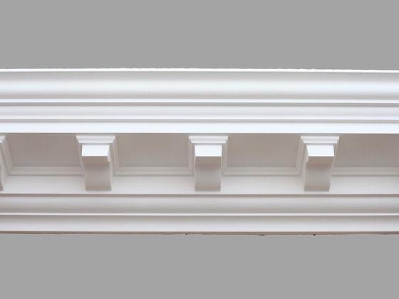CL-CC02 Classic Plaster Cornice.  Projection: 127mm.  Depth: 140mm.