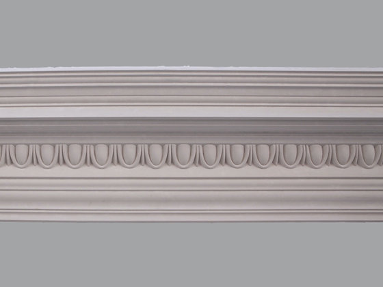 CL-E13 Edwardian Plaster Cornice.  Projection: 185mm.  Depth: 190mm.