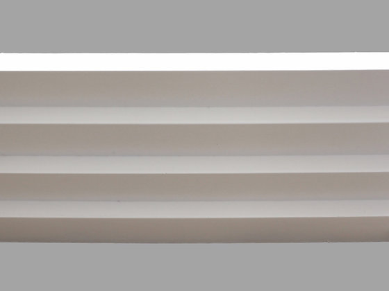 CL-A06 Art Deco Plaster Cornice. Ceiling Projection: 304mm. Wall Height: 100mm.