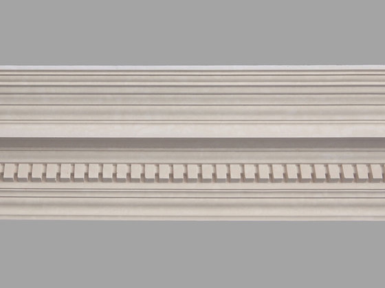 CL-E14 Edwardian Plaster Cornice. Ceiling Projection: 180mm. Wall Height: 195mm.
