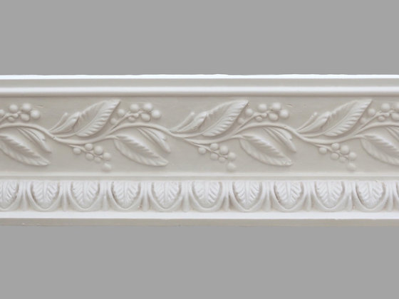 CL-R08 Regency Plaster Cornice.  Ceiling Projection: 145mm.  Wall Height: 53mm.