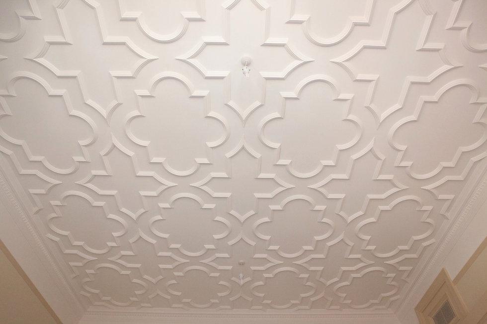 Panelled Ceiling Restoration Cornice London