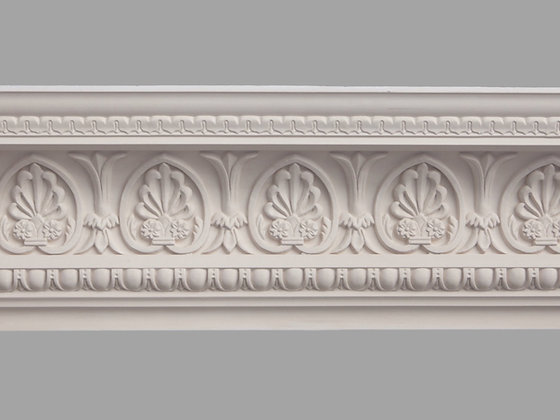 CL-CC08 Classic Plaster Cornice. Ceiling Projection: 190mm. Wall Height: 220mm.