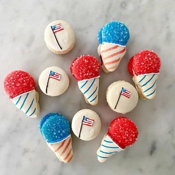 patriotic snowcones