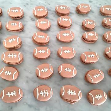 football macarons