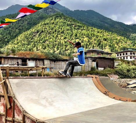 Bhutan's First Skatepark – Johnny Strange Skatepark