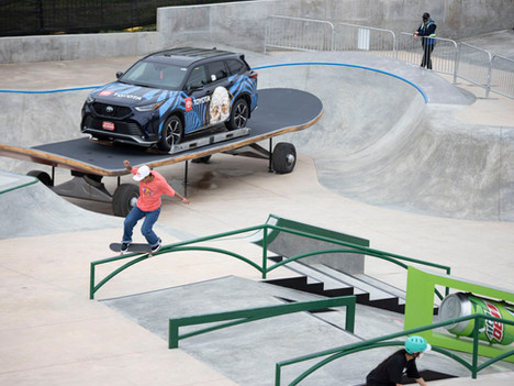 Check Out The Custom Sponsor Skate Features We Built For The Dew Tour!